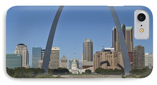 St Louis Skyline IPhone Case by Garry McMichael