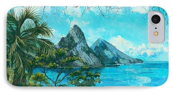 St. Lucia - W. Indies Phone Case by Elisabeta Hermann