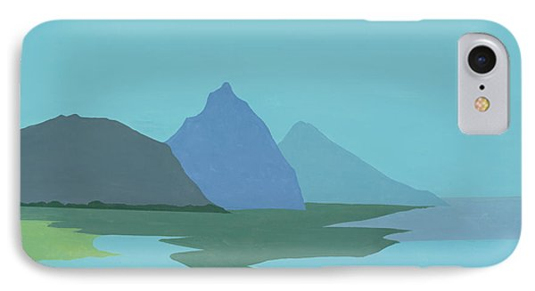 St. Lucia - W. Indies II Phone Case by Elisabeta Hermann