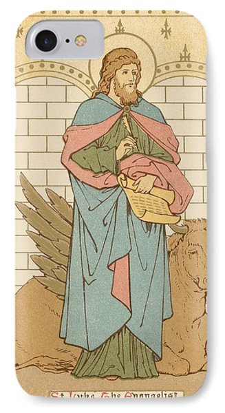 St Luke The Evangelist IPhone Case by English School
