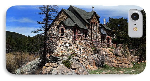 St. Malo Chapel IPhone Case by Shane Bechler
