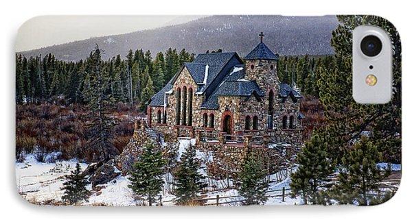 St. Malo Chapel IPhone Case by Priscilla Burgers