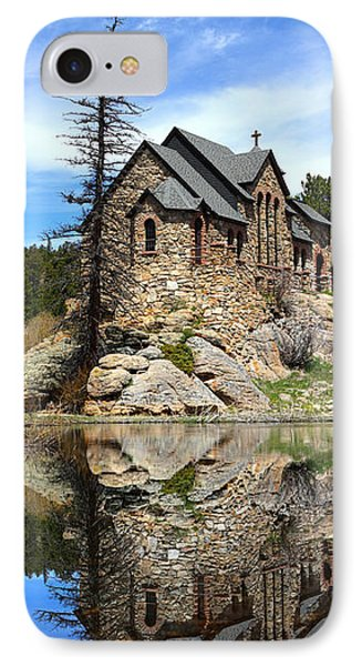 St. Malo Church IPhone Case by Shane Bechler