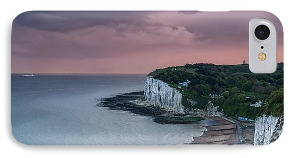 St Margarets Bay Dover IPhone Case by Ian Hufton