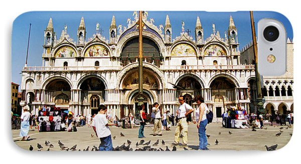IPhone Case featuring the photograph St. Mark's Basilica  by Allen Beatty