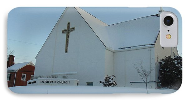 St. Marks Lutheran Church IPhone Case by Charlotte Gray