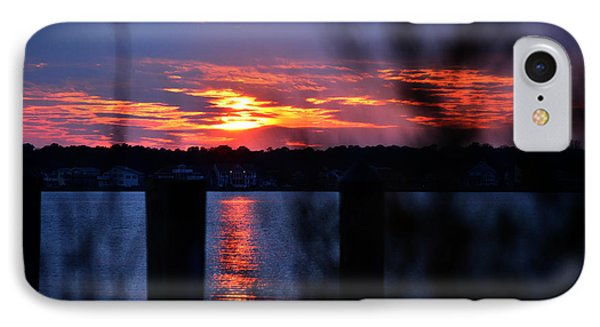 IPhone Case featuring the photograph St. Marten River Sunset by Bill Swartwout