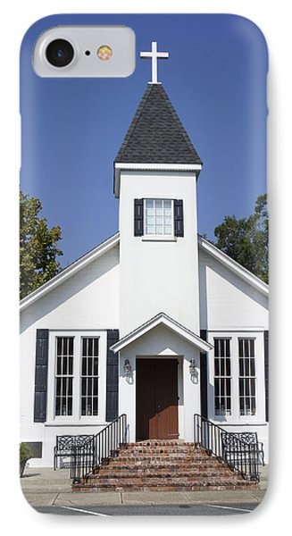 St. Mary's Chapel IPhone Case by Laurie Perry