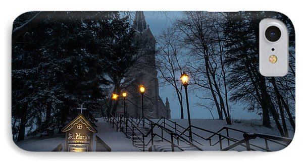 St Mary's Christmas IPhone Case by James  Meyer