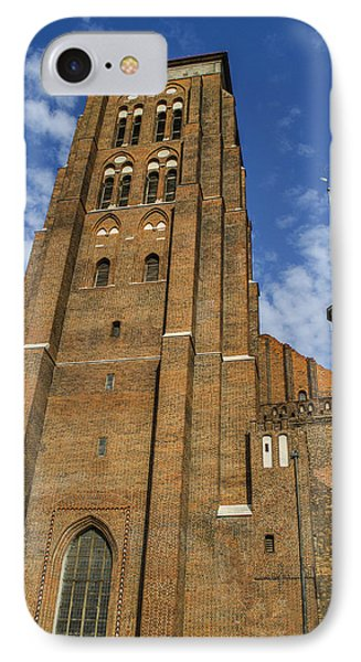 St. Mary's Church In Gdansk Phone Case by Adam Budziarek