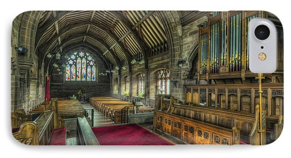 St Marys Church Organ Phone Case by Ian Mitchell