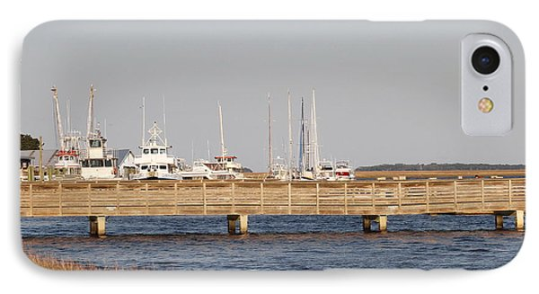 St. Mary's Harbor IPhone Case by Cathy Lindsey