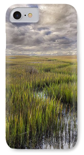 St Mary's Island Georgia IPhone Case by Gary Warnimont