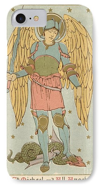 St Michael And All Angels By English School Phone Case by English School