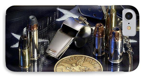 St Michael Law Enforcement Phone Case by Gary Yost