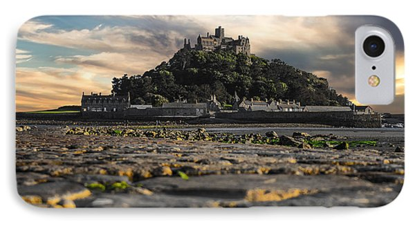 St Michael's Mount Cornwall Uk IPhone Case by Martin Newman