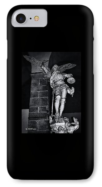 IPhone Case featuring the photograph St. Michel Slaying The Dragon by Elf Evans