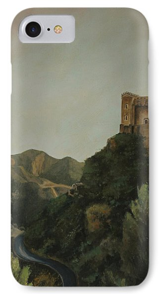 St Nicholas Church Savoca IPhone Case by Cecilia Brendel
