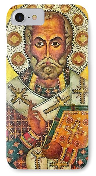 St Nicholas' Icon Phone Case by Dragica  Micki Fortuna
