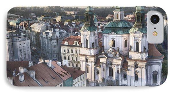 St Nicholas Prague Phone Case by Joan Carroll