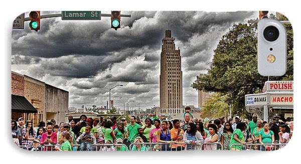 IPhone Case featuring the photograph St. Paddy's Parade by Jim Albritton