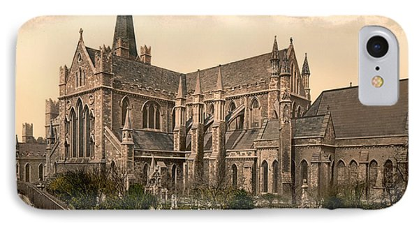 St Patrick's Cathedral - Dublin Ireland 1897 IPhone Case