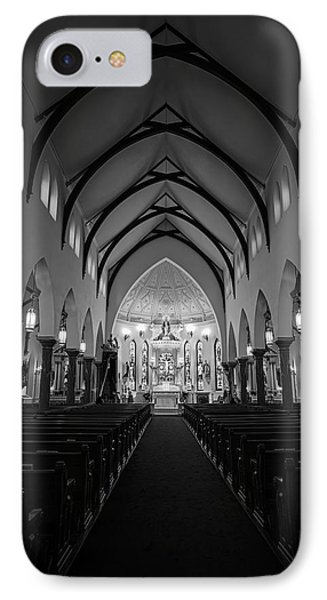 St Patricks Cathedral Fort Worth Phone Case by Joan Carroll