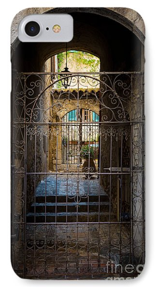 St Paul Courtyard Phone Case by Inge Johnsson