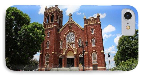 Hamel Illinois - St. Paul's IPhone Case by Frank Romeo