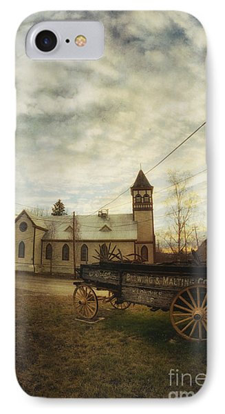 St. Pauls Anglican Church With Wagon  Phone Case by Priska Wettstein