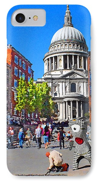 St Pauls Cathedral And Mandeville IPhone Case