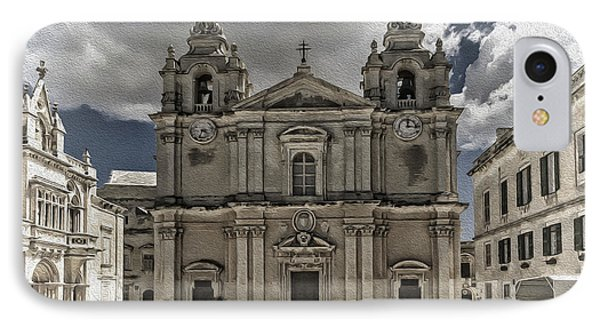 St. Paul's Cathedral IPhone Case by Maria Coulson