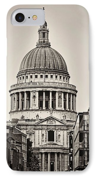 St Pauls London IPhone Case by Heather Applegate