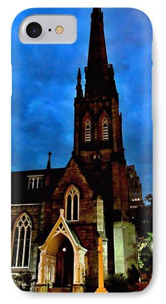 St. Paul's Presbyterian Church Front View Phone Case by Danielle  Parent
