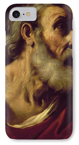St. Peter IPhone Case by Guercino