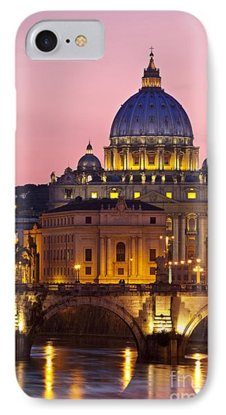 St Peters Basilica IPhone Case by Brian Jannsen
