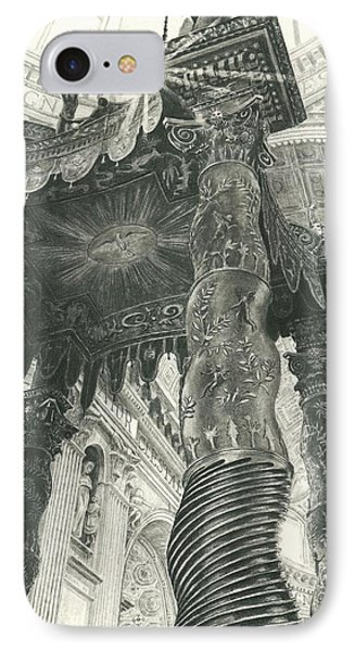 St. Peters Basilica  Phone Case by Norman Bean