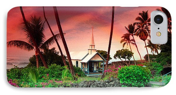 St Peters Church IPhone Case by Randy Sylvia