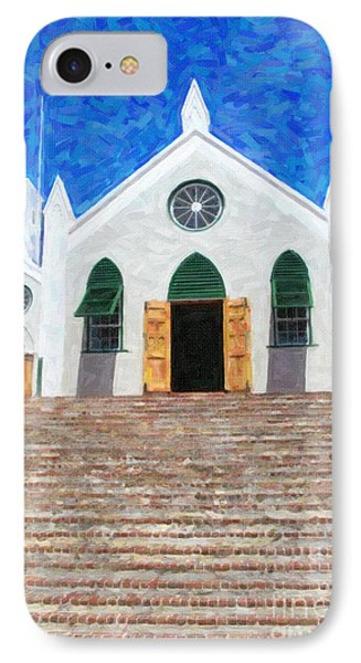 IPhone Case featuring the photograph St. Peter's Church  by Verena Matthew