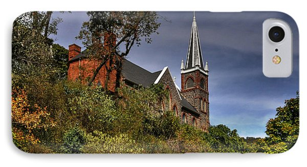St. Peter's Of Harpers Ferry Phone Case by Lois Bryan