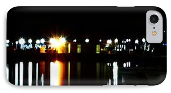 St. Petersburg Pier Panorama IPhone Case by Richard Zentner