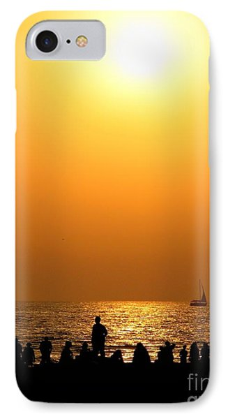 St. Petersburg Sunset IPhone Case by Peggy Hughes