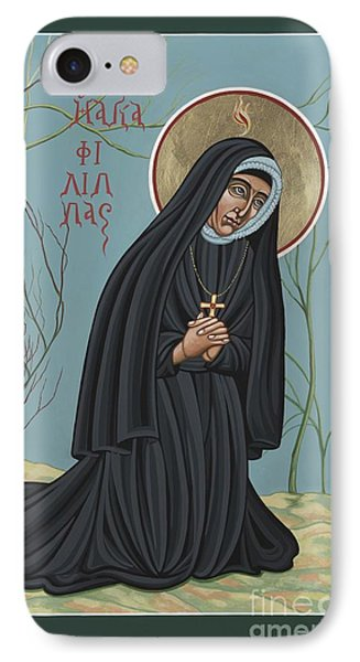 IPhone Case featuring the painting St. Philippine Duchesne 259 by William Hart McNichols