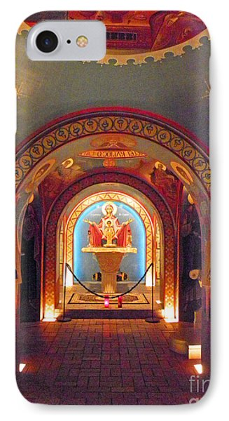 St Photios Greek Shrine Phone Case by Elizabeth Hoskinson