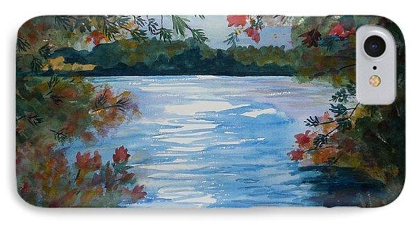 St. Regis Lake IPhone Case by Ellen Levinson