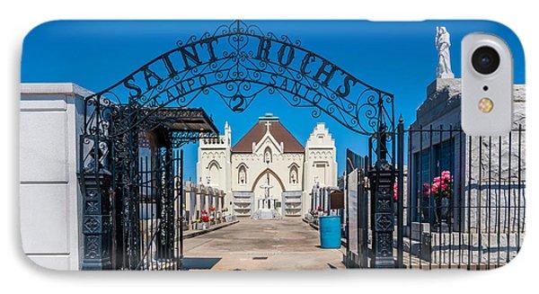 St Roch's Cemetery Phone Case by Steve Harrington