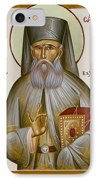 St Savvas Of Kalymnos IPhone Case by Julia Bridget Hayes