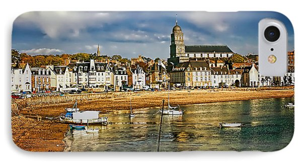 IPhone Case featuring the photograph Saint Servan Anse by Elf Evans