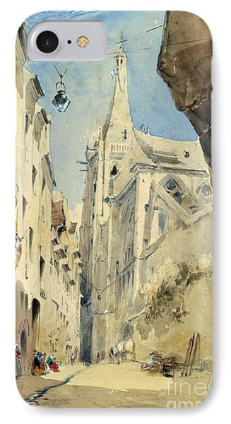 St. Severin Paris Phone Case by James Holland