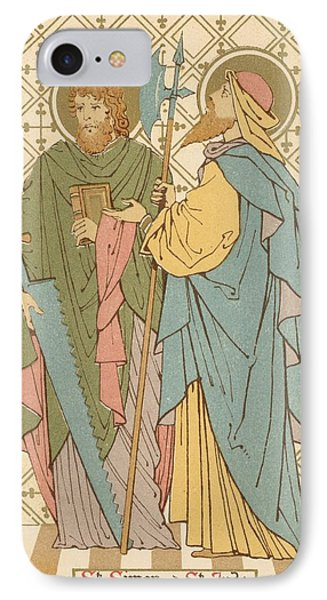 St Simon And St Jude IPhone Case by English School